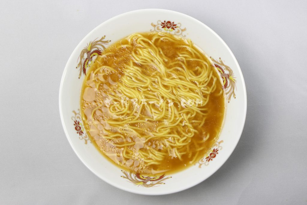「北海道ラーメン かに三昧 みそ味」(藤原製麺)の完成画像