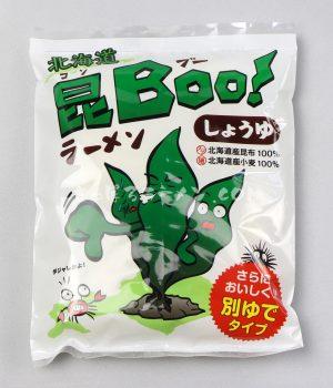 「北海道 昆Boo!ラーメン しょうゆ」(えぞキッチン)を食べてみたよ