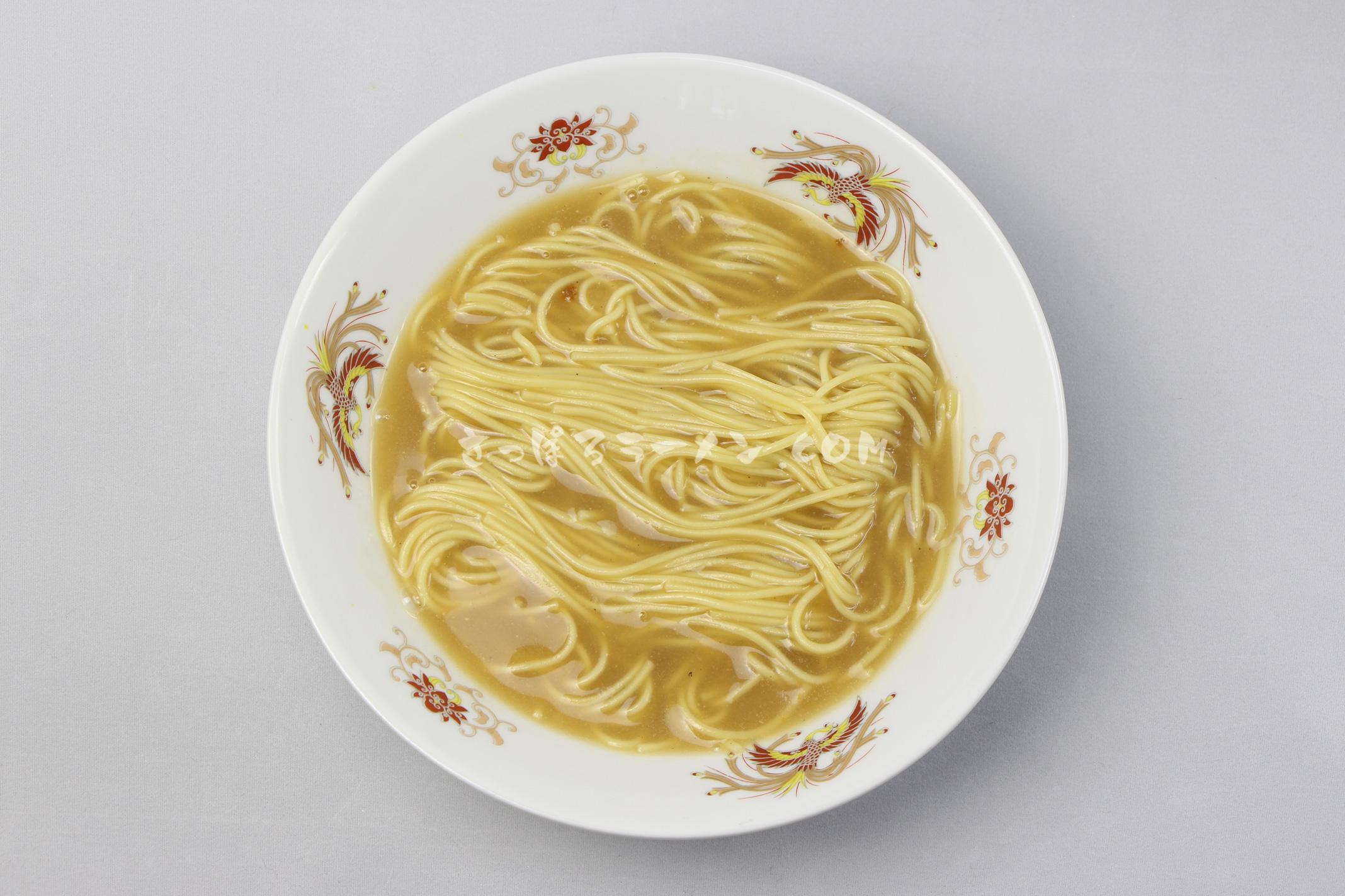 「北海道ラーメン 濃厚味噌」(ライス・ハートフーズ)の完成画像