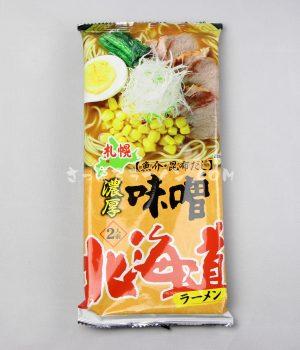 「北海道ラーメン 濃厚味噌」(ライス・ハートフーズ)を食べてみたよ