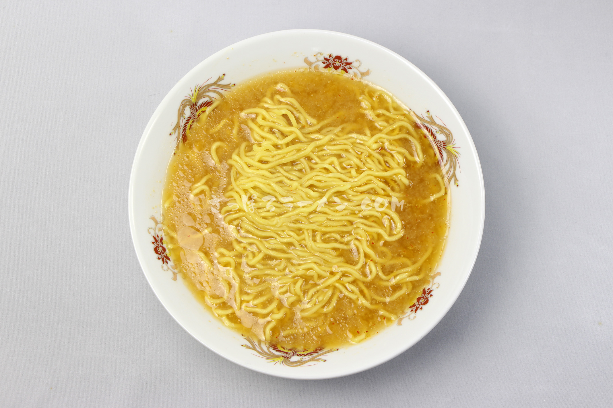「B・B NOODLE みそ味」(西山製麺)の完成画像