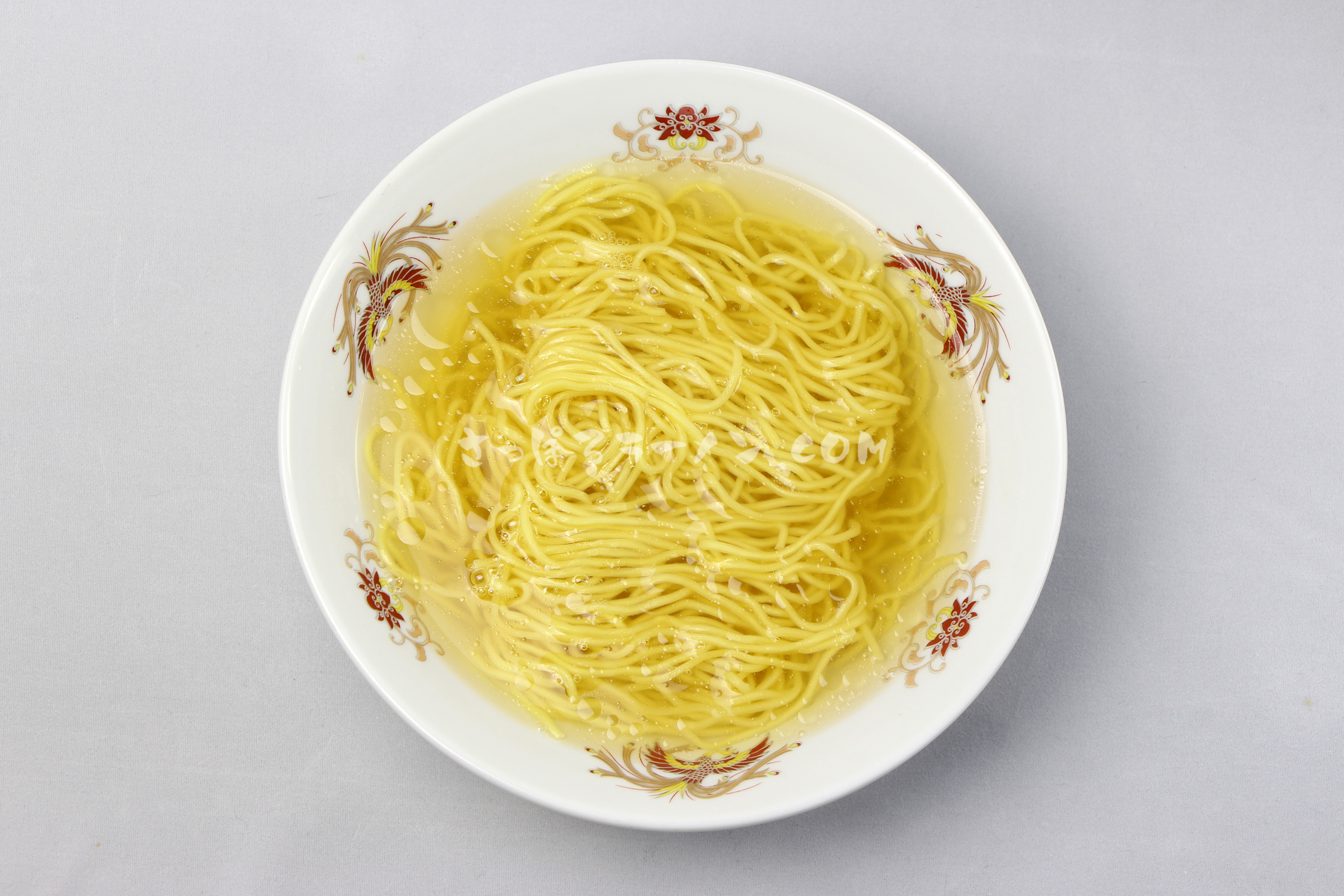 「熊出没注意ラーメン 塩味」(藤原製麺)の完成画像