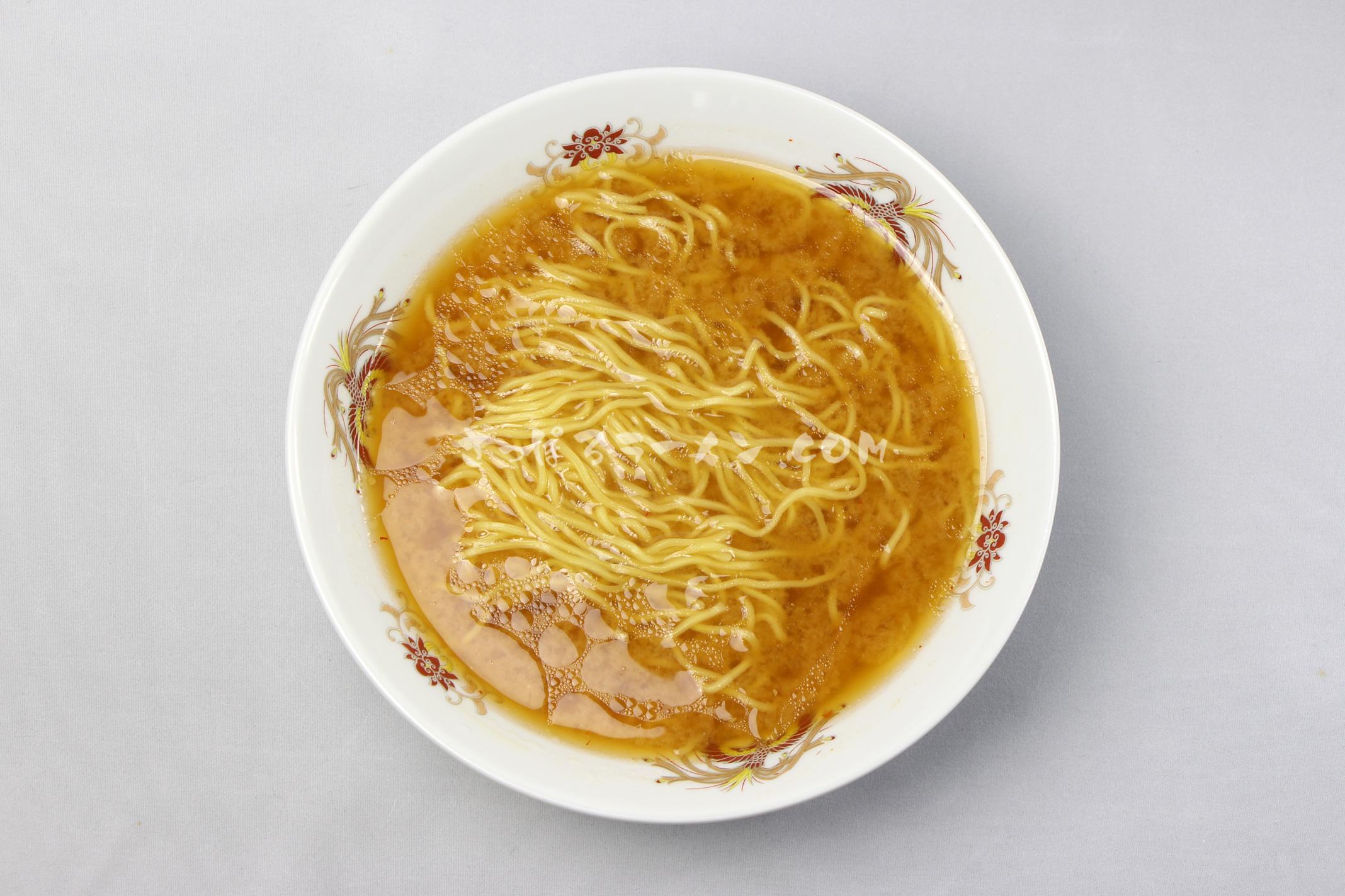 「昭和40年 北海道みそラーメン 」(藤原製麺)の完成画像