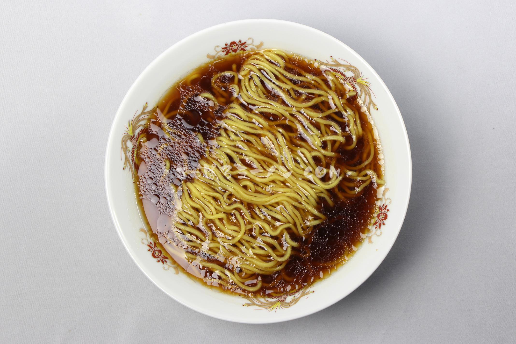 「江別小麦 寒干し 醬油味(1人前)」(菊水)の完成画像