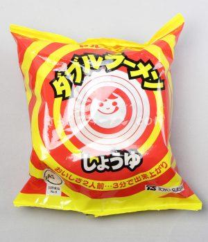 道産子御用達インスタントラーメン「ダブルラーメン しょうゆ」(東洋水産株式会社)を食べてみたよ