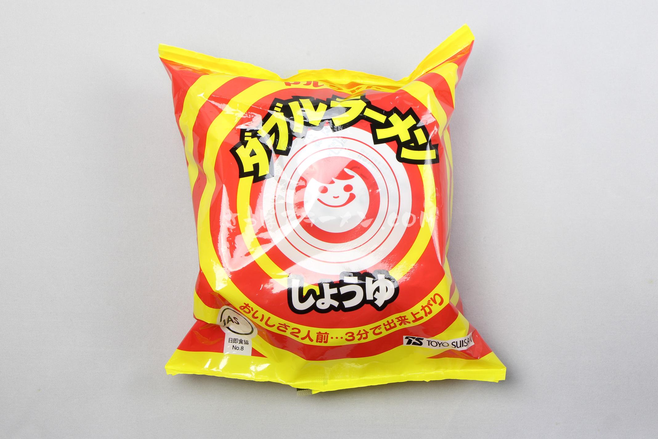 「ダブルラーメン しょうゆ」(東洋水産株式会社)のパッケージ(表)