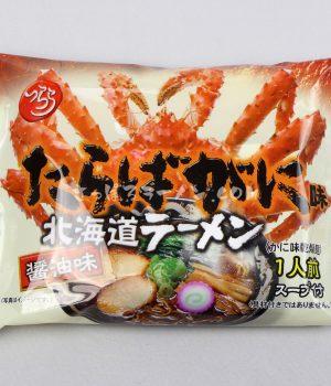 「新・たらばがに北海道ラーメン しょうゆ味」(つらら)を食べてみたよ