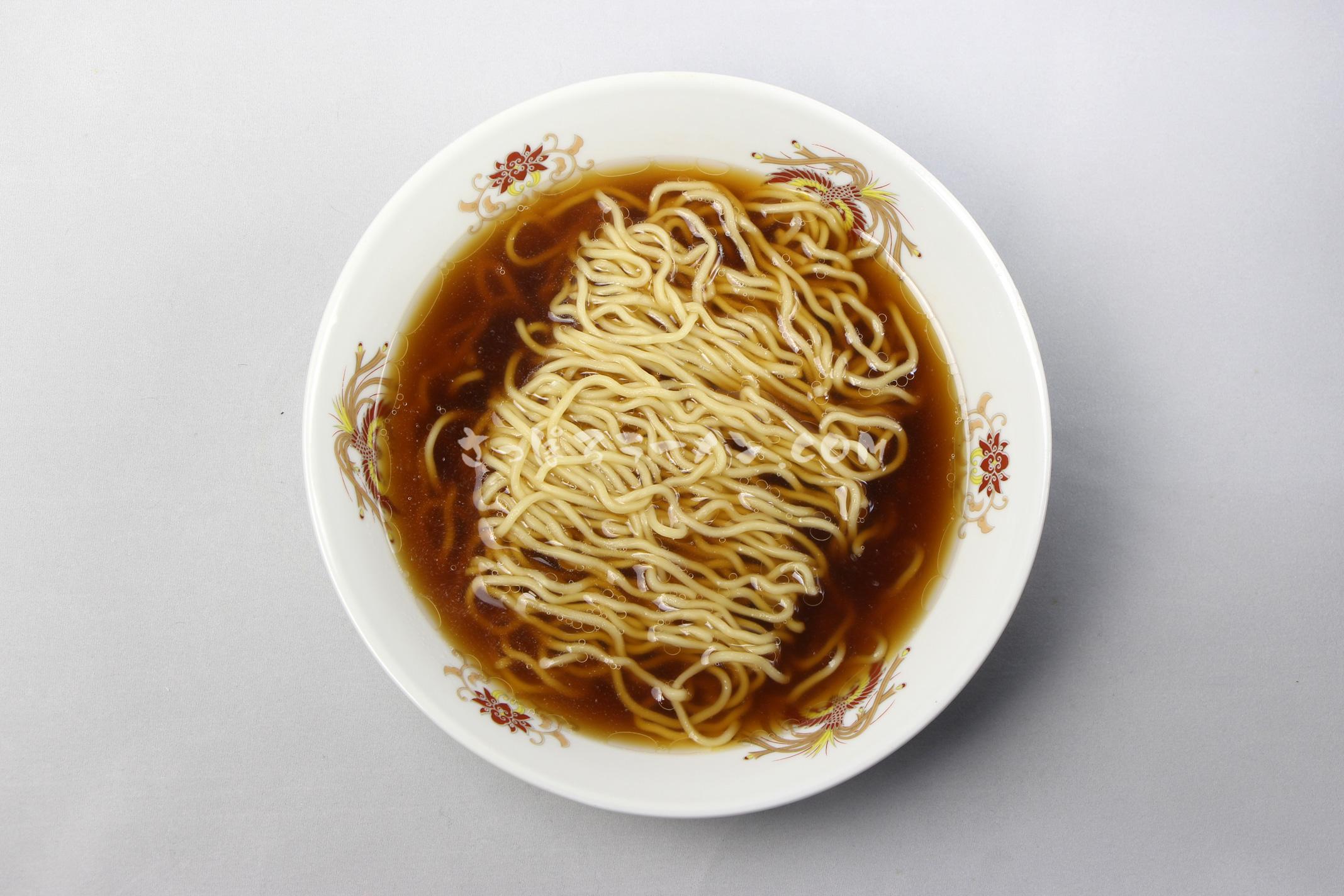 「新・たらばがに北海道ラーメン しょうゆ味」(つらら)の完成画像