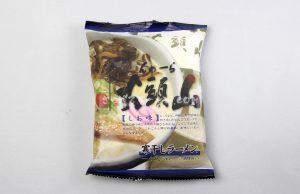 豚骨ラーメンの草分け的存在「寒干し らーめん山頭火 しお味」(菊水)を食べてみたよ
