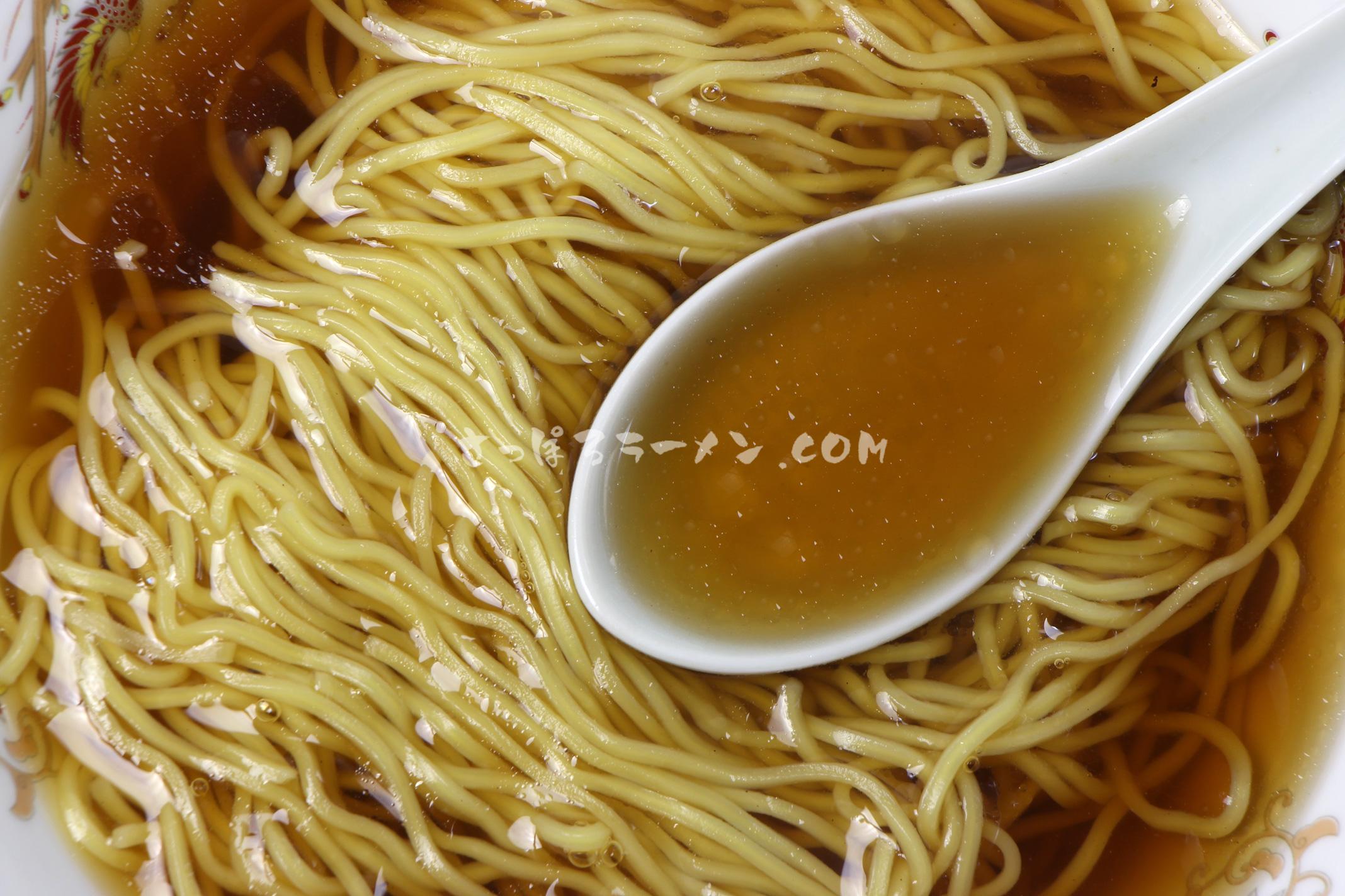 「北海道ラーメン旭川醤油」(藤原製麺)のスープ