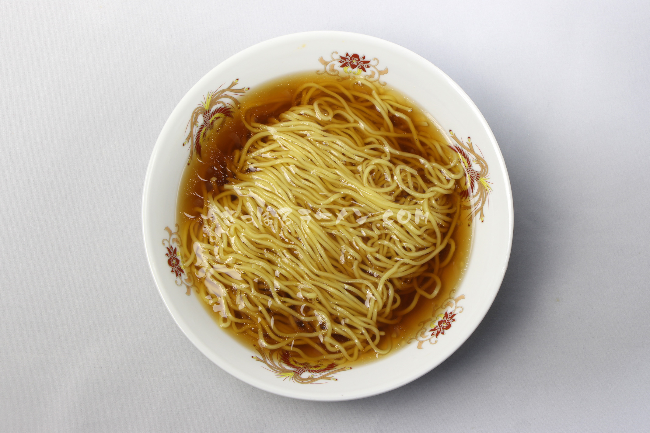 「北海道ラーメン旭川醤油」(藤原製麺)の完成画像