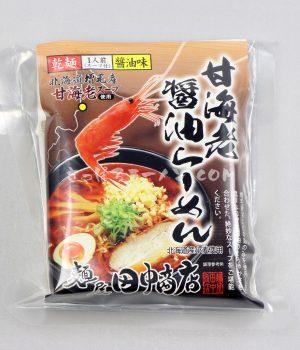 「甘海老醬油らーめん」(麺屋 田中商店)を食べてみたよ