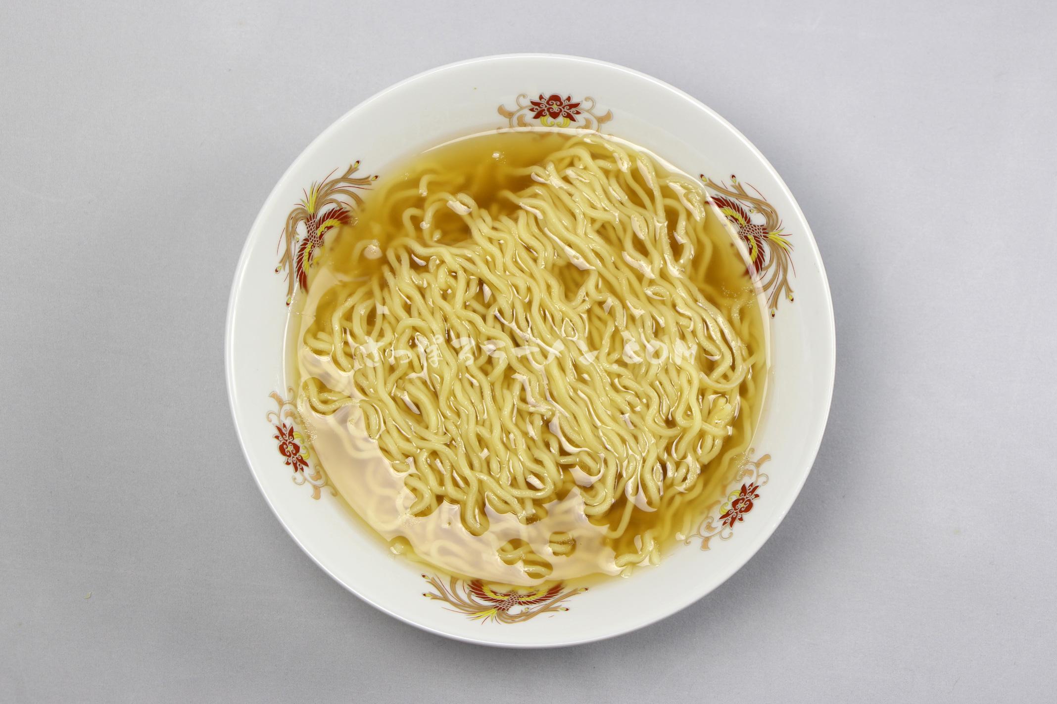 「キタノカオリ使用 小麦薫るしおラーメン」の完成画像